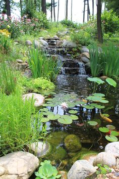 Step out your back door and listen to nature first hand with this beautiful water feature.