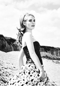 Lily James Downton Abbey's Lady Rose