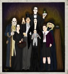 Addams Family Values (1993) | Comedy ~ Fantasy | Creepier. Kookier. Spookier. Ookier. | Pubert is the latest addition to the Addams family and a nanny is hired. Debby is believed to be the perfect nanny for Pubert. When she becomes the unlikely wife of Uncle Fester, the question becomes...Is she grave-digging or gold-digging? | Artwork by Fiona Strange [©2008-2014 FionaStrange]