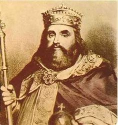Charles the Fat (Charles III) Kinf of the Franks (885-888) Emperor of the Romans (881-887) - son of Louis the German, cousin of Louis II and Carloman II and grandson of Louis I the Pious