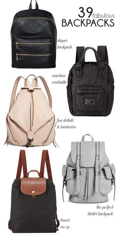 39 of the most stylish backpacks for moms (or anyone!) // lovelyluckylife.com