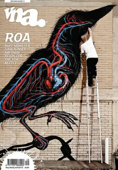 Roa on limited edition VNA cover