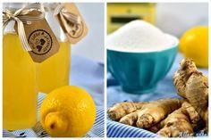 Rezept Ingwer Sirup Zitrone Erfrischung lecker heiße Zitrone Ingwersirup
