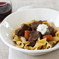 This warming eastern European short rib stew is best served in deep bowls over buttery noodles.     More Beef Dishes   ...