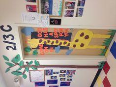 June/July preschool classroom door