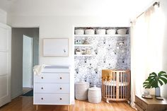 All Together Now - How To Create A Tiny Nursery In A Master Bedroom - Photos