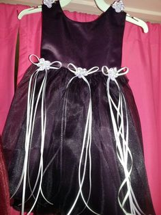 New (never used) - Baby dresses 12 months..24 months..29.99.colors.plum..and burg...new. holiday dress with headbands