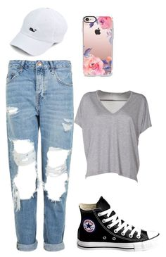 """Untitled #5"" by becca4184 on Polyvore featuring Converse, Topshop, Acne Studios and Casetify"