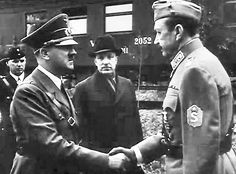 Hitler meets Baron Carl Gustaf Emil Mannerheim, Marshal of Finland, June Finland fought on the side of Germany against the USSR until Pearl Harbor Attack, The Third Reich, Lest We Forget, Two Brothers, Interesting History, Baron, World History, World War Two, Finland