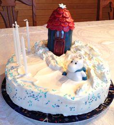 Winter in Moominvalley - birthday cake