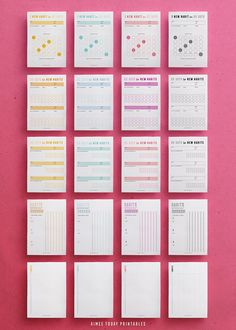 The Ultimate Printable Habit Tracker Kit helps you build excellent, life-changing habits into your daily routine. Learn the tips and tricks to create habits that stick, then apply those ideas and plan Planner Inserts, Planner Template, Planner Pages, Printable Planner, Printables, Routine Printable, Daily Printable, Goals Planner, Budget Planner
