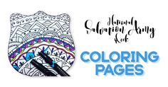 Salvation Army Coloring Book #1. Find #2 here: http://www.sawomensministries.org/coloring-pages/