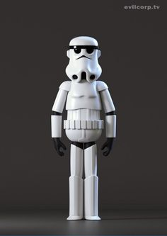 Stormtrooper by Kibooki