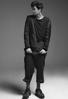 Photographer Moke Najung's website update : NYLON Korea, September 2015 Issue - Kai