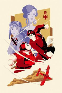 Porco Rosso ❤ an amazing movie Japanese Animated Movies, Japanese Film, Hayao Miyazaki, Nerdy Wallpaper, Studio Ghibli Background, Pom Poko, The Cat Returns, Studio Ghibli Movies, A Silent Voice