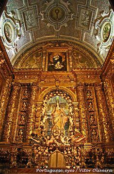 Igreja de São Roque, Lisboa, Portugal. Portugal website: http://www.enjoyportugal.eu/#!lisboa/cjbl