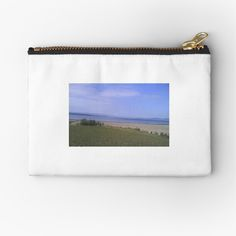 'Isle of Bute Zipper Pouch by sillybanana Isle Of Bute, Makeup Bags, Transparent Stickers, Glossier Stickers, Gifts For Family, Zipper Pouch, Unique, Stuff To Buy, Makeup Pouch