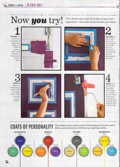 how to paint your front door BHG