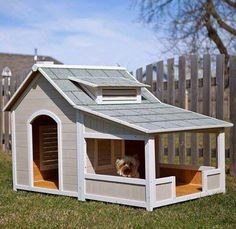 This takes dog houses to an all new level