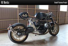 46 Works – BMW R nineT Custom Project