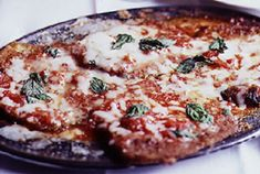 Tony's Eggplant Parmesan at the Hill in St. Louis