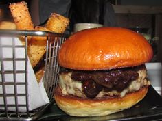 The Williamsburger at Cherry Izakaya. Click to get the full review.