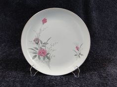 """Fine China of Japan Golden Rose MSI Dinner Plate 10 1/4"""" - MINT! #FineChinaofJapan"""