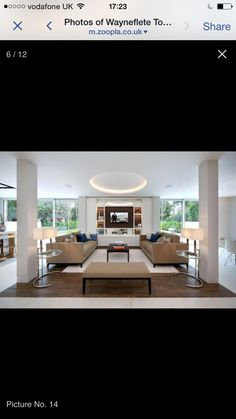 Love the built in storage and sofa arrangement