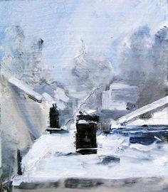 """Juno by Ian Costello Oil ~ 7"""" x 6"""""""