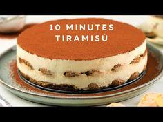 How To Make Tiramisu In 10 Minutes | Easy Alcohol-free Tiramisu | Fuzz & Buzz - YouTube How To Make Tiramisu, Cake Recipes, Snack Recipes, Dessert Recipes, No Bake Desserts, Easy Desserts, Clafoutis Recipes, French Apple Cake, Puddings