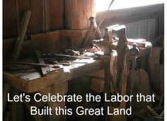 Let's Celebrate the #Labor that built this great land.