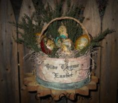 Old Thyme Easter Basket by crustyoldcrows