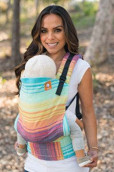 TULA Baby Carriers | Toddler Carriers — Half Toddler WC Carrier - Bay Tinte Azul