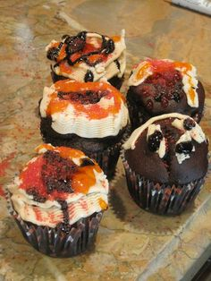 Gluten Free Halloween Cupcakes This can be so intriguing, prepare to enjoy it way too. See more at http://www.thrivingparenthood.com/addictive-butternut-squash-pasta-for-kids-and-family