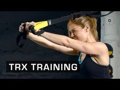 Fitness Master Class - TRX training - Lucile Woodward - YouTube