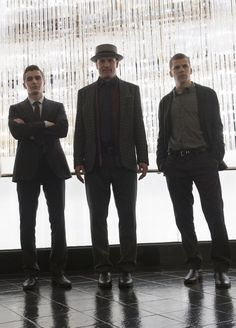 Jesse Eisenberg, Woody Harrelson and Dave Franco in Now You See Me 2