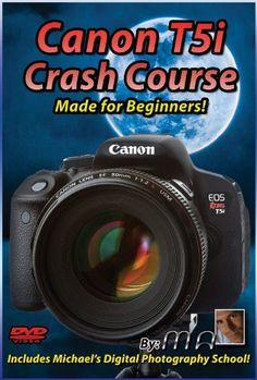 Amazon.com: Canon T5i Crash Course Training Tutorial DVD: Michael Andrew, Michael The Maven: Movies & TV