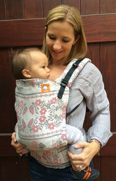 TULA Baby Carriers | Toddler Carriers — (Standard Size) Half Wrap Conversion Tula Baby Carrier - Natibaby Kali