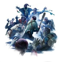 Illustrations done for game trailer, Xbox/ Capcom's upcoming DEAD RISING Check out the trailer below! Dead Rising, Fear The Walking Dead, Zombie Apocalypse, Call Of Duty, Resident Evil, Picture Video, Horror, Marvel, Saga