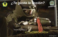 Primer #Reto : En NO menos de 10 trinos, cuéntanos por qué deseas participar en #PolicíaPorUnDía  ¡Recuerda! debes hacerlo en la red social Twitter, mencionando la cuenta @PoliciaColombia y usando el hashtag #PolicíaPorUnDía  ¡Tienes hasta el martes 13 de octubre, buena suerte!