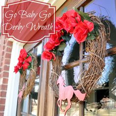 Kentucky Derby Wreath (DIY Spring Wreath)