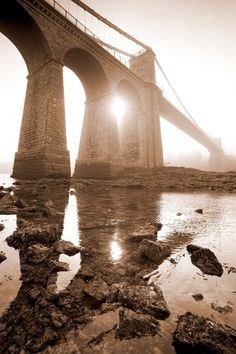 Glyn Davies  250 yr old bridge on the Welsh island of Anglesey