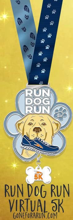 5K Virtual Race, set for April 15th-17th 2016. Best swag-this medal, cute tshirt and real bib!