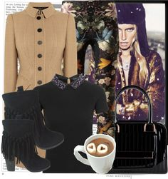 """""""Freezing and Happy in Orlando!!!!"""" by karineminzonwilson ❤ liked on Polyvore"""
