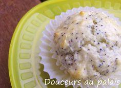 Douceurs au palais: Muffins aux graines de pavot et au citron, glaçage citronné Muffins, Mashed Potatoes, Ice Cream, Voici, Ethnic Recipes, Desserts, Food, Seeds, Lemon