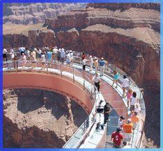 Sky Walking at the Grand Canyon, AZ