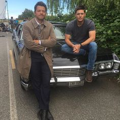 Dean Winchester e Castiel kk incríveis (Jensen Ackles e Misha Collins Jensen Ackles, Jensen And Misha, Sam E Dean Winchester, Dean And Castiel, Winchester Brothers, Sam Dean, Misha Collins, Supernatural Series, Supernatural Destiel