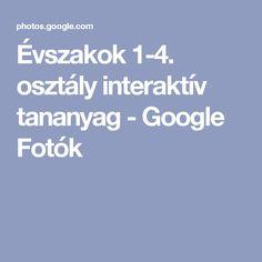 Évszakok 1-4. osztály interaktív tananyag - Google Fotók