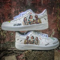 detailed pictures 359c3 a6101 Custom Nike Air Force 1