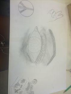 ik heb er weer iets nieuws bij getekend, deze les vond k wel een beetje moeilijk omdat ik niet wist wat ik  er nog meer bij moest tekenen